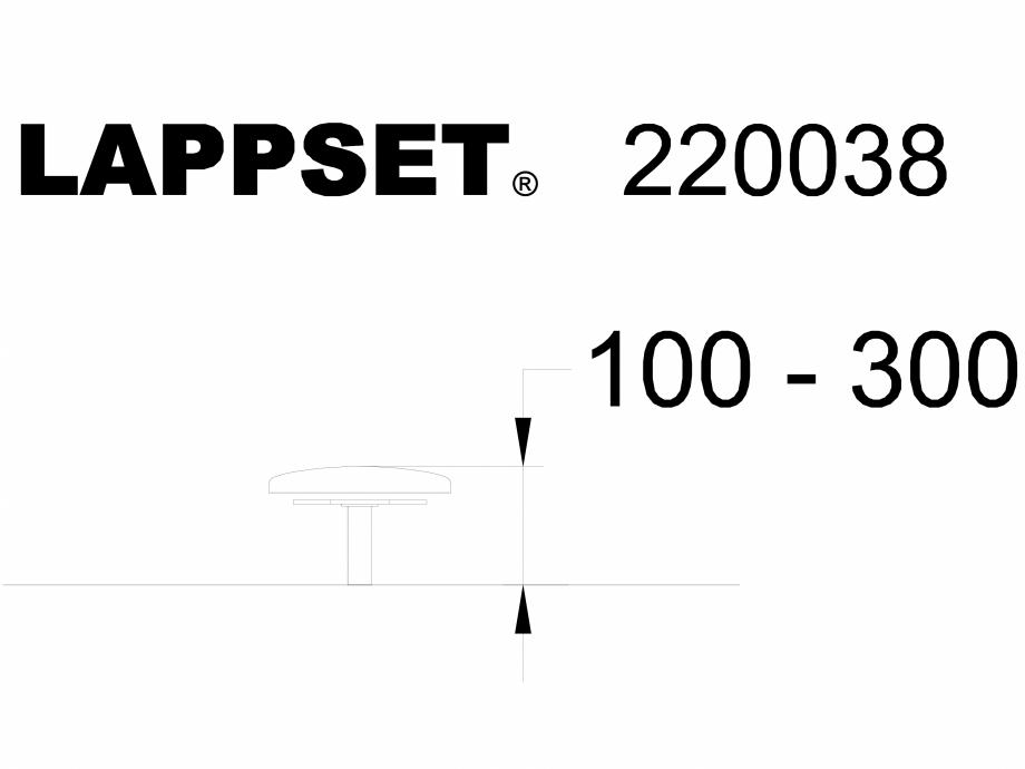 Pagina 1 - CAD-DWG Echipament de joaca pentru copii - 220038 LAPPSET Detaliu de produs CLOXX