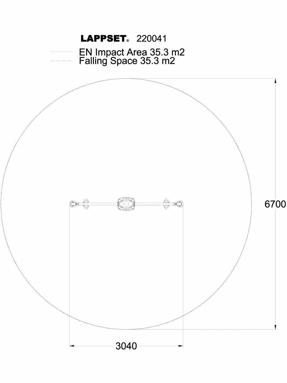 Pagina 1 - CAD-DWG Echipament de joaca pentru copii - 220041PL LAPPSET Detaliu de produs CLOXX