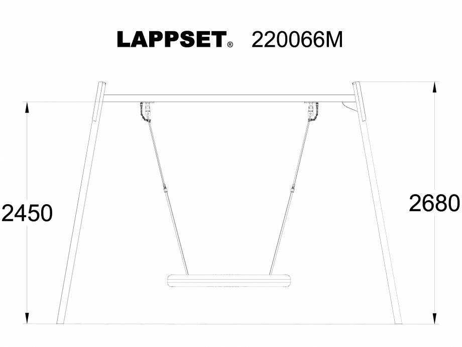 Pagina 1 - CAD-DWG Echipament de joaca pentru copii - 220066M LAPPSET Detaliu de produs CLOXX
