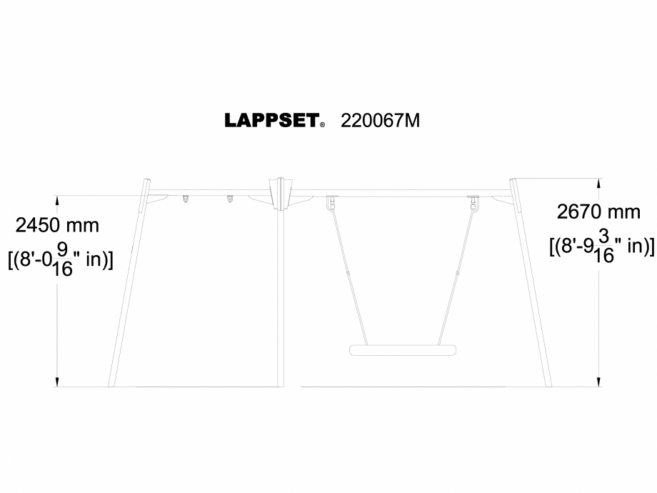 Pagina 1 - CAD-DWG Echipament de joaca pentru copii - 220067M LAPPSET Detaliu de produs CLOXX