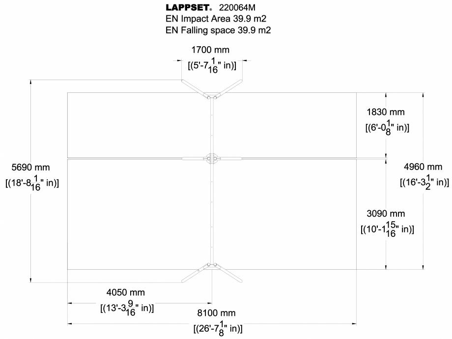 Pagina 1 - CAD-DWG Echipament de joaca pentru copii - 220064M(1) LAPPSET Detaliu de produs CLOXX