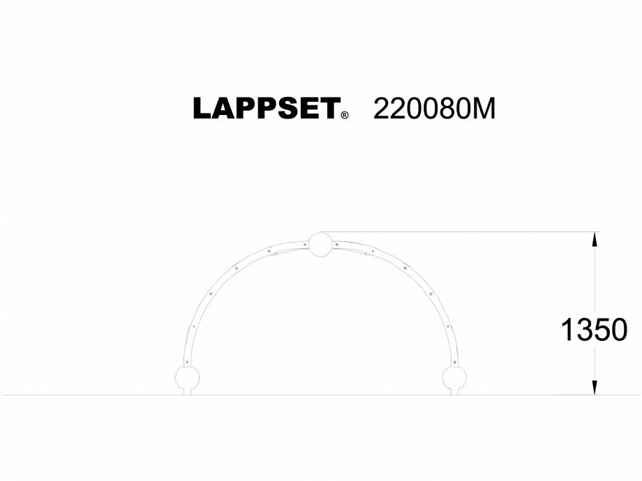 Pagina 1 - CAD-DWG Echipament de joaca pentru copii - 220080M LAPPSET Detaliu de produs CLOXX