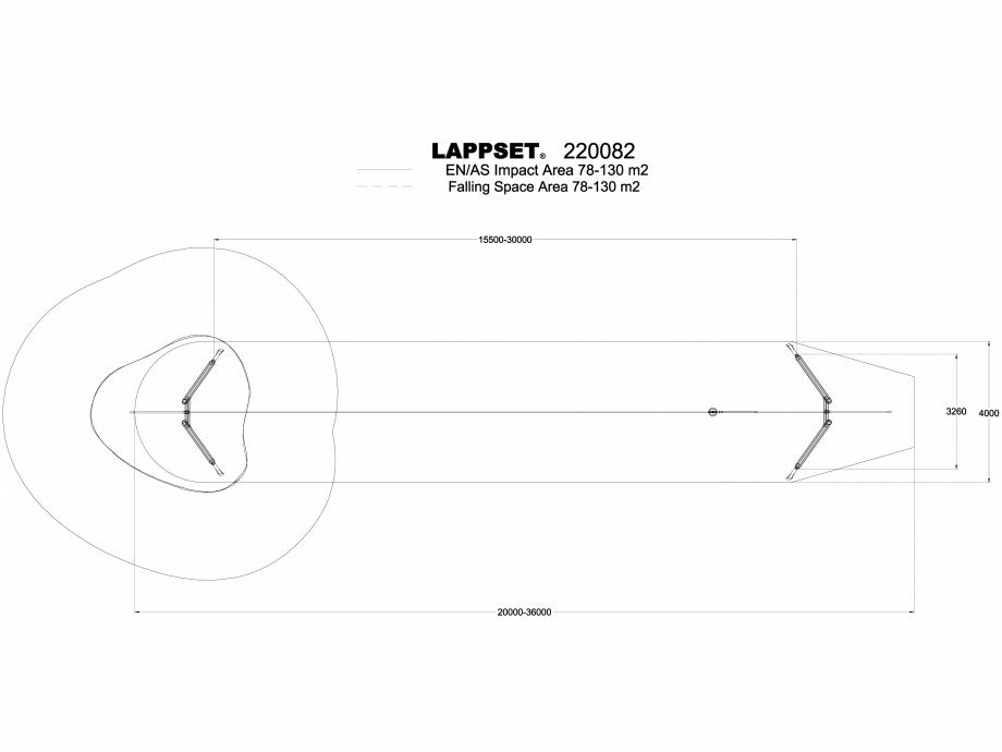 Pagina 1 - CAD-DWG Echipament de joaca pentru copii - 220082(1) LAPPSET Detaliu de produs CLOXX