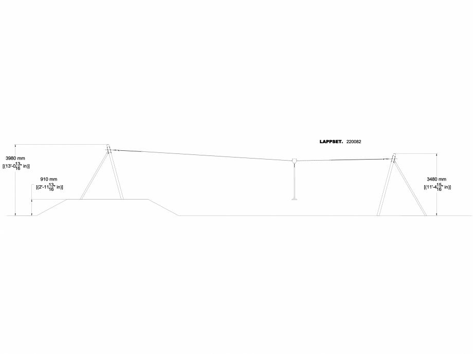 Pagina 1 - CAD-DWG Echipament de joaca pentru copii - 220082 LAPPSET Detaliu de produs CLOXX