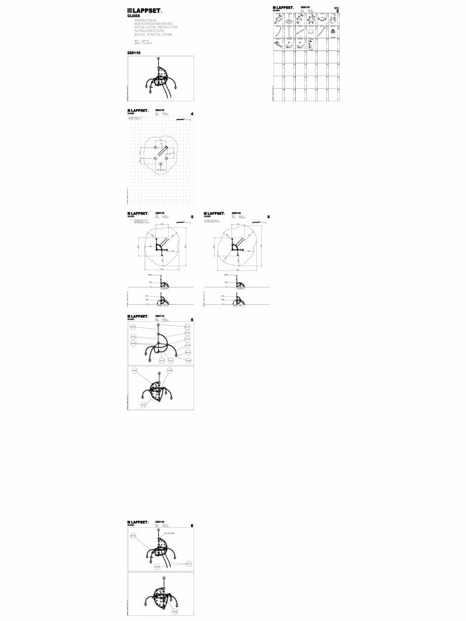 Pagina 1 - CAD-DWG Echipament de joaca pentru copii - 220110(2) LAPPSET Detaliu de produs CLOXX