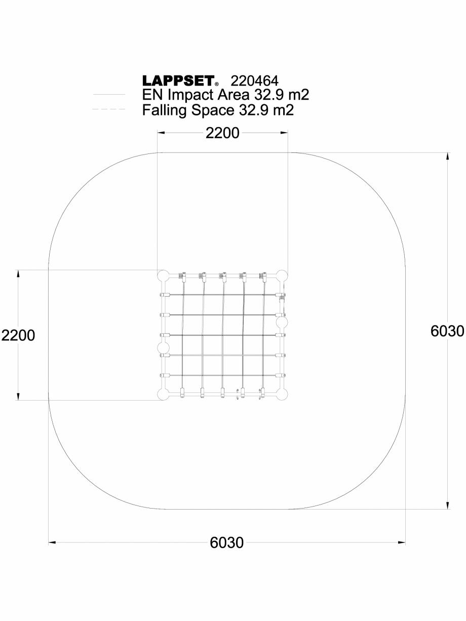 Pagina 1 - CAD-DWG Echipament de joaca pentru copii - 220464(1) LAPPSET Detaliu de produs CLOXX