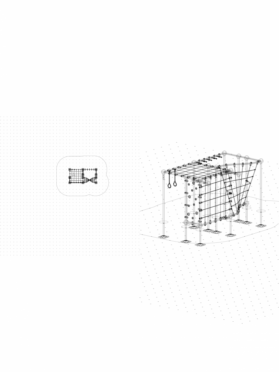 Pagina 1 - CAD-DWG Echipament de joaca pentru copii - 220466(3) LAPPSET Detaliu de produs CLOXX
