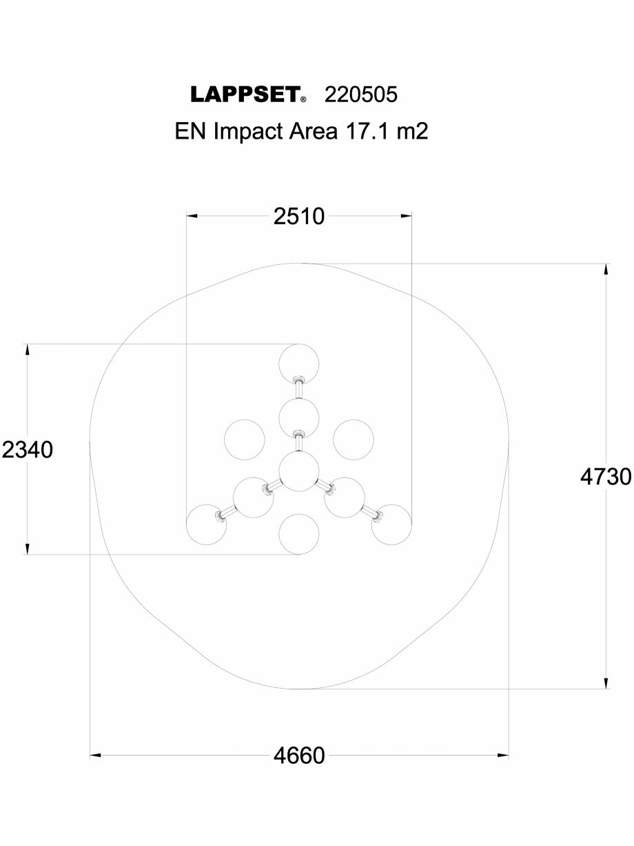 Pagina 1 - CAD-DWG Echipament de joaca pentru copii - 220505(1) LAPPSET Detaliu de produs CLOXX