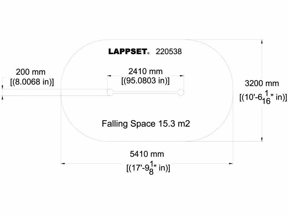 Pagina 1 - CAD-DWG Echipament de joaca pentru copii - 220538 LAPPSET Detaliu de produs CLOXX