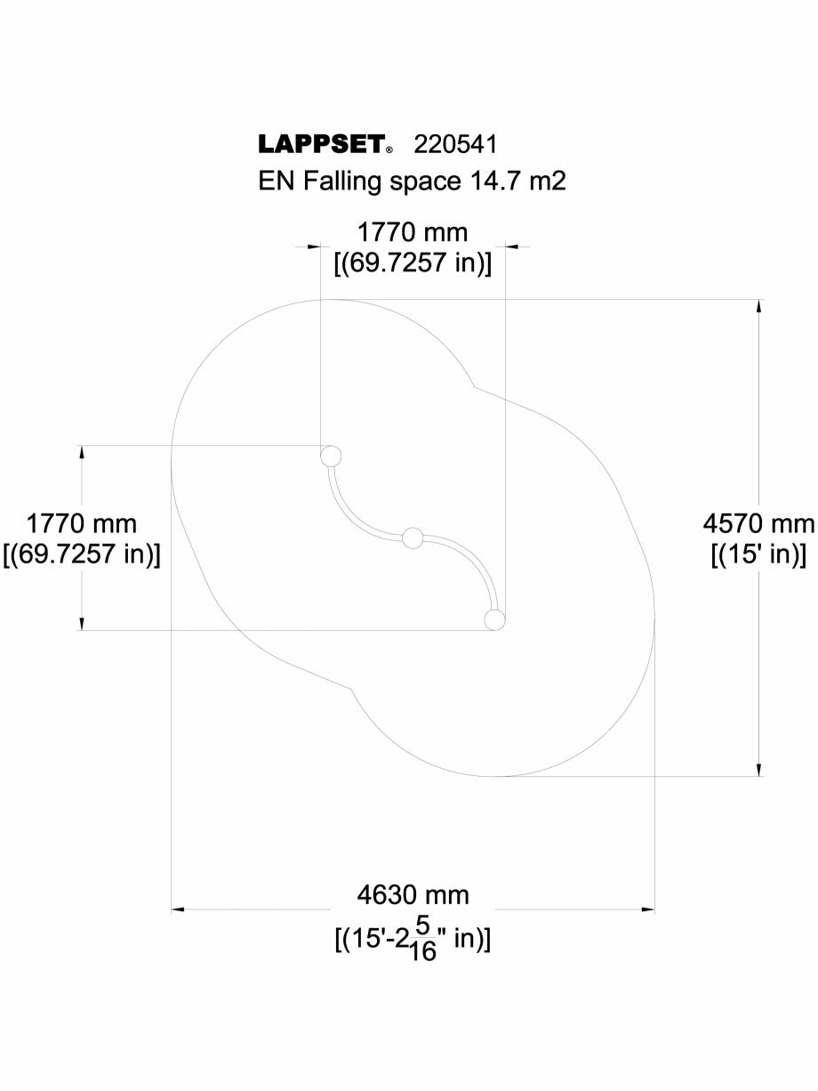 Pagina 1 - CAD-DWG Echipament de joaca pentru copii - 220541(2) LAPPSET Detaliu de produs CLOXX