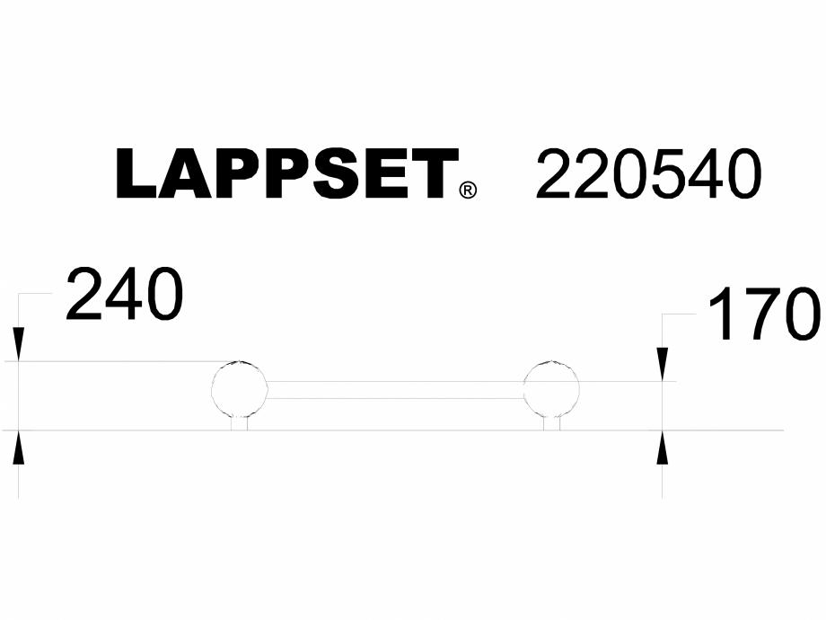 Pagina 1 - CAD-DWG Echipament de joaca pentru copii - 220540 LAPPSET Detaliu de produs CLOXX