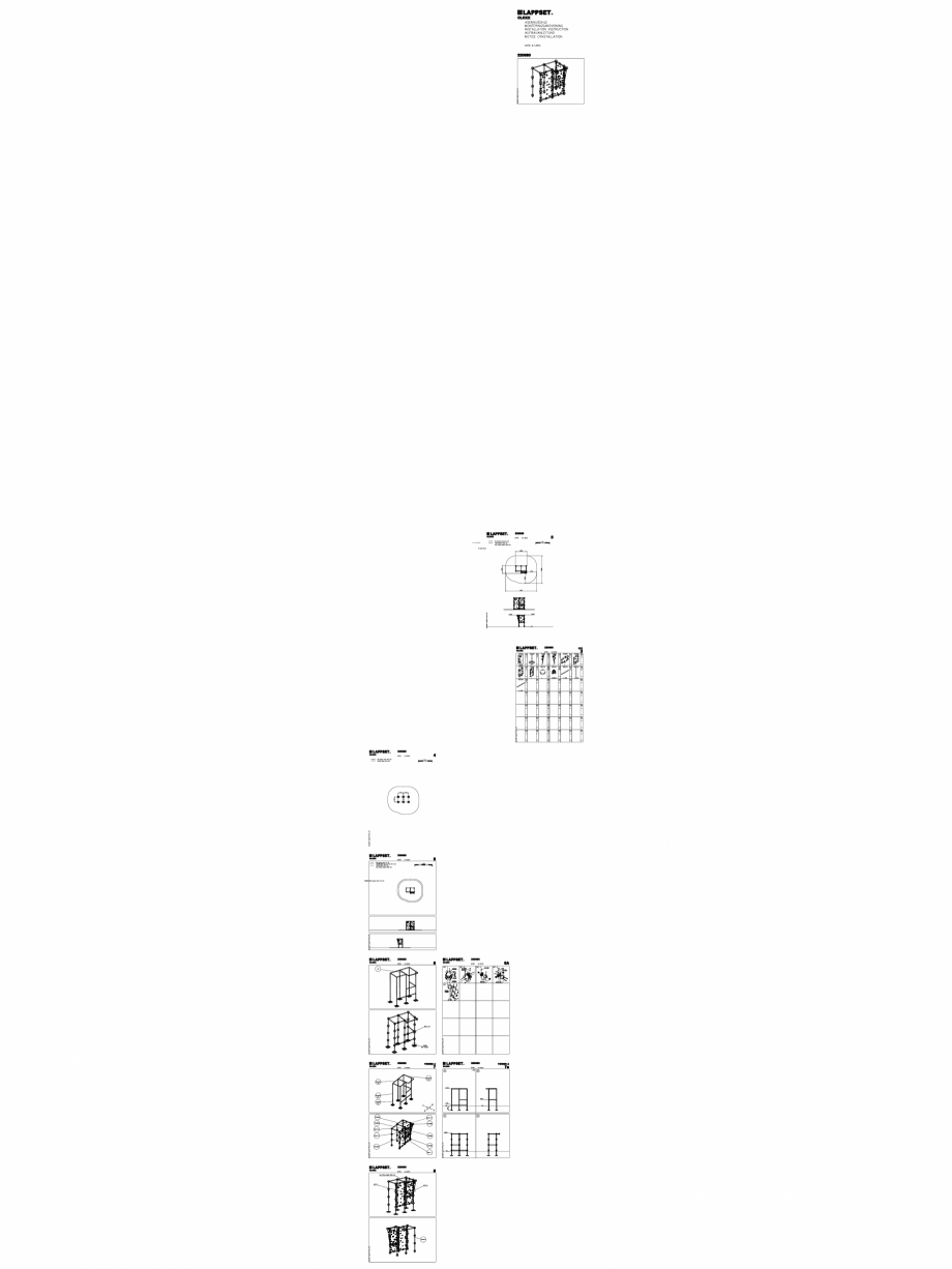 Pagina 1 - CAD-DWG Echipament de joaca pentru copii - 220680(2) LAPPSET Detaliu de produs CLOXX