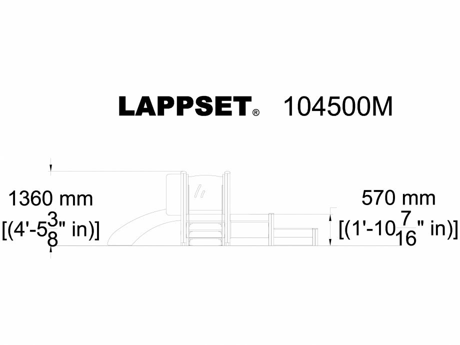 Pagina 1 - CAD-DWG Echipament de joaca pentru copii sub 4 ani ROSA 104500M LAPPSET Detaliu de produs...