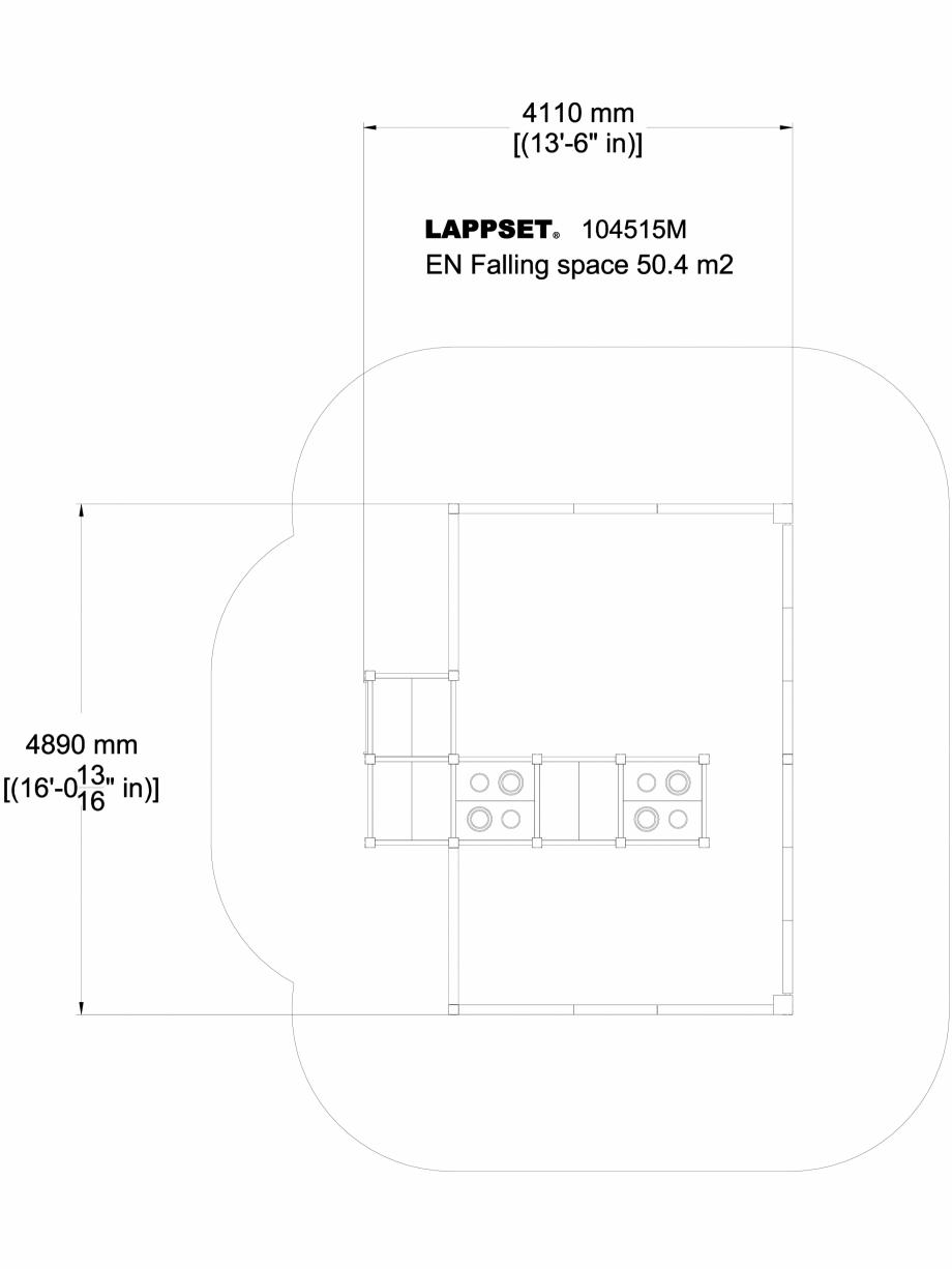 Pagina 1 - CAD-DWG Echipament de joaca pentru copii sub 4 ani LINNEA 104515M - vedere de sus LAPPSET...