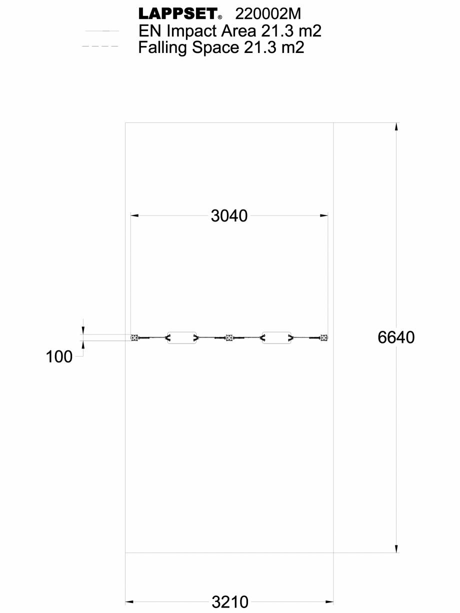 Pagina 1 - CAD-DWG Echipament de joaca pentru copii sub 4 ani TELLURIIUM x2 220002M, vedere de sus...