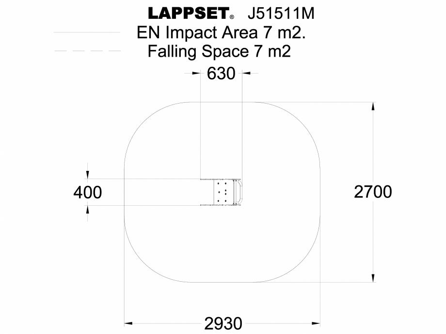 Pagina 1 - CAD-DWG Echipament de joaca pentru copii sub 4 ani PICO J51511M - vedere de sus LAPPSET...