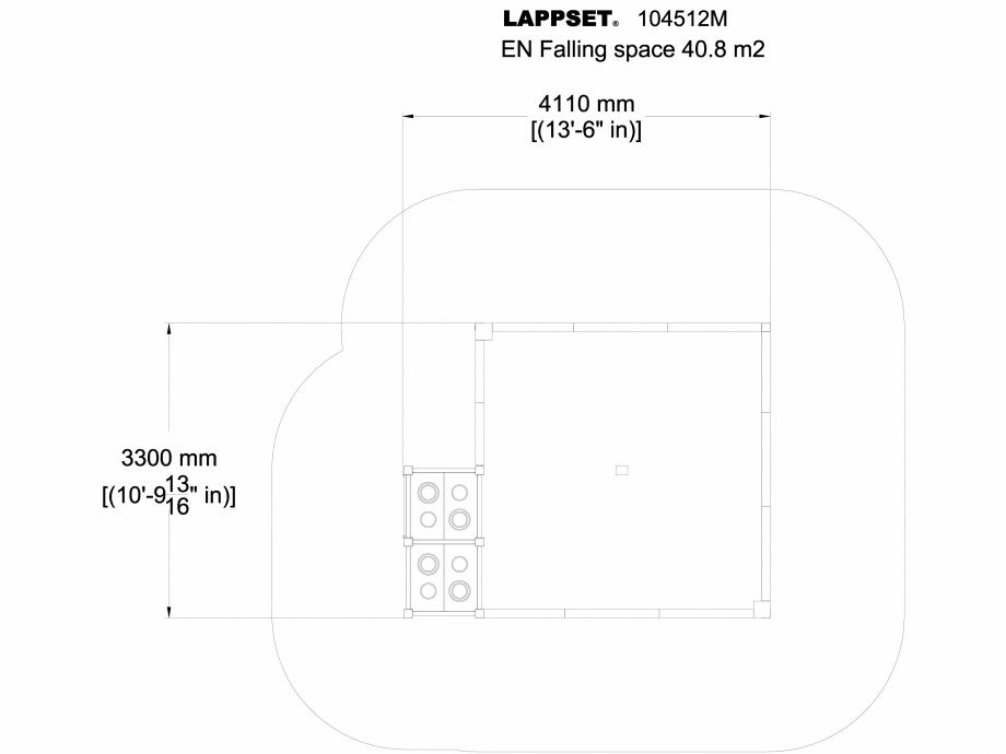 Pagina 1 - CAD-DWG Echipament de joaca pentru copii sub 4 ani 104512M PLAN LAPPSET Detaliu de produs...
