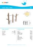Echipament de catarat din lemn 175555  LAPPSET - FLORA