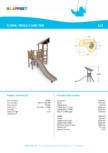 Echipament de joaca din lemn 175510  LAPPSET - FLORA