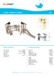 Echipament de joaca din lemn 175520  LAPPSET - FLORA
