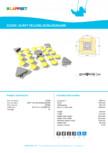 Echipament pentru echilibru SURFY YELLOW,3520x3520x500 - 220010 LAPPSET - CLOXX