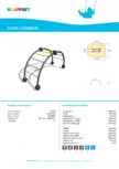 Echipament de catarat CADMIUM 220080M LAPPSET - CLOXX