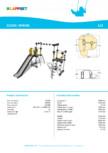 Echipament de catarat cu tobogan XENON 220320 LAPPSET - CLOXX