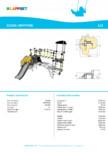 Echipament de catarat cu tobogan KRYPTON 220325 LAPPSET - CLOXX