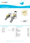 Echipament de catarat cu tobogan BARIUM 220328 LAPPSET - CLOXX