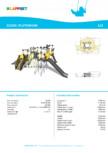 Echipament de catarat cu tobogan PLUTONIUM 220336 LAPPSET - CLOXX