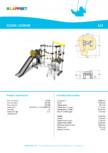 Echipament de catarat cu tobogan CESIUM 220338 LAPPSET - CLOXX