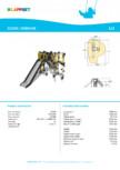 Echipament de catarat cu tobogan OSMIUM 220340 LAPPSET - CLOXX