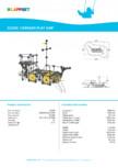 Echipament de joaca, nava CARRAXX PLAY SHIP 220350 LAPPSET - CLOXX