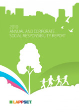 Responsabilitatea sociala - Raport 2010 LAPPSET