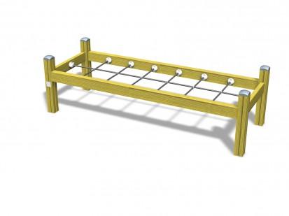 Echipament de joaca din lemn 175019 CLOVER Echipamente de joaca pentru copii