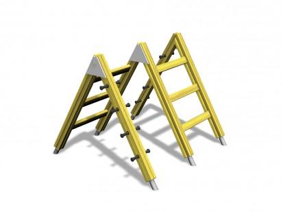 Structura pentru catarat 175006 CLOVER Echipamente de joaca pentru copii