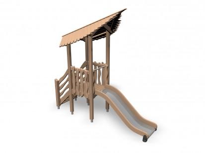 FAIRY'S BURROW - Echipament de joaca din lemn 175515 FLORA Echipamente de joaca pentru copii