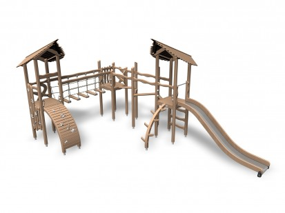 GOBILN'S FOREST - Echipament de joaca din lemn 175520 FLORA Echipamente de joaca pentru copii