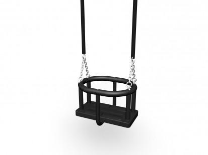 Scaun cauciuc pentru leagan , lant 210 cm 000228 FLORA Echipamente de joaca pentru copii