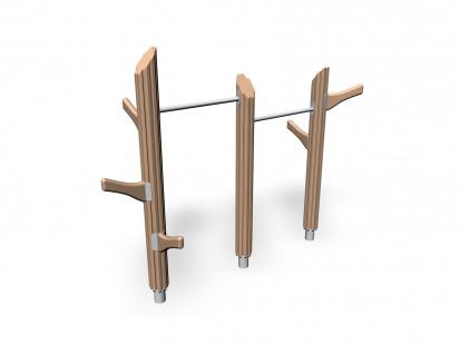 TROLL'S TREES - Echipament de catarat din lemn 175555 FLORA Echipamente de joaca pentru copii