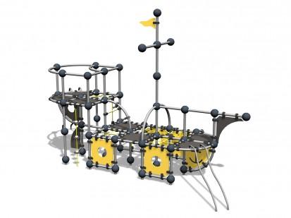 CARRAXX PLAY SHIP - Echipament de joaca nava 220350 CLOXX Echipamente de joaca din metal pentru