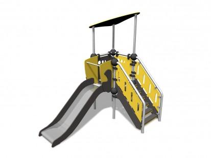 ARGON - Echipament de joaca cu tobogan 220304 CLOXX Echipamente de joaca din metal pentru copii