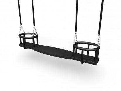 HUGO _ INES - Scaun pentru leagan 000104 CLOXX Echipamente de joaca din metal pentru copii