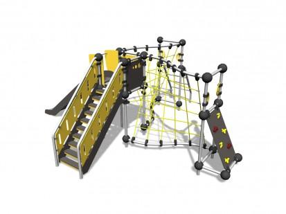 IRIDIUM - Echipament de catarat 220332 CLOXX Echipamente de joaca din metal pentru copii