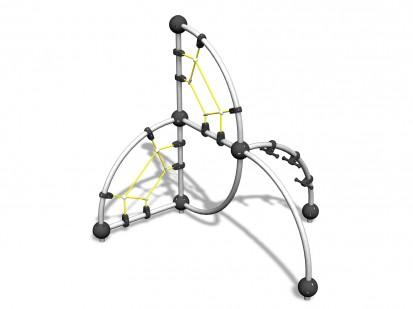 PLATINIUM - Echipament de catarat 220090M CLOXX Echipamente de joaca din metal pentru copii