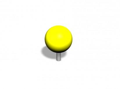 PRECISION BALL - Echipament de joaca pentru copii 220501 CLOXX Echipamente de joaca din metal pentru
