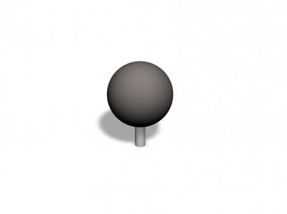 PRECISION BALL - Echipament de joaca pentru copii 220502 CLOXX Echipamente de joaca din metal pentru