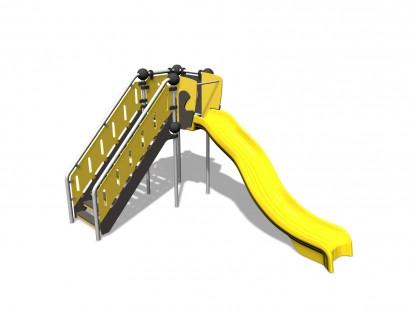 RENIUM - Echipament de joaca cu tobogan 220306 CLOXX Echipamente de joaca din metal pentru copii