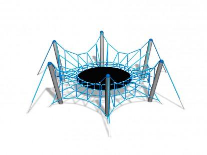 SPIDER L - Structura de catarat 200225 CLOXX Echipamente de joaca din metal pentru copii