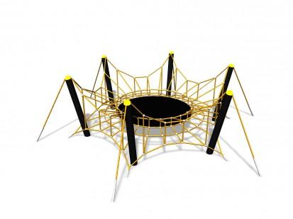 SPIDER L - Structura de catarat(or) 200225 CLOXX Echipamente de joaca din metal pentru copii